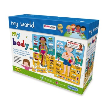 MY BODY/ 2 CHILDREN'S PUZZLES