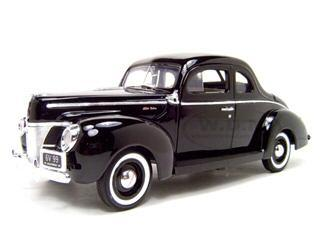 Ford Coupe, 1940, Black, 1/18