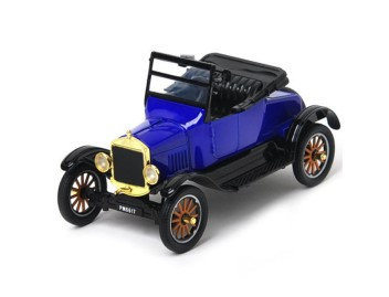 FORD MODEL T - RUNABOUT BLUE 1925 1/24
