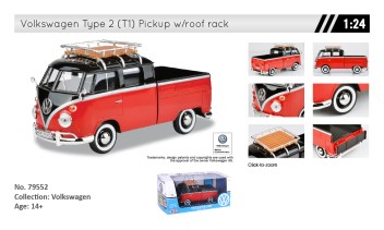 VOLKSWAGEN TYPE 2 (T1) - PICKUP WITH ROOF RACK  BL