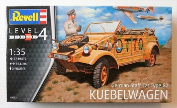 "GERMAN STAFF CAR TYPE 82 ""KUBELWAGEN"" 1/35"