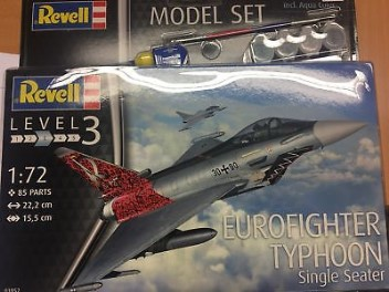 MODEL SET EUROFIGHTER TYPHOON 1:72